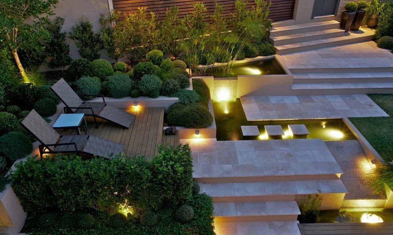 Trang trí đèn sân vườn đúng điệu giúp gia tăng tính thẩm mỹ