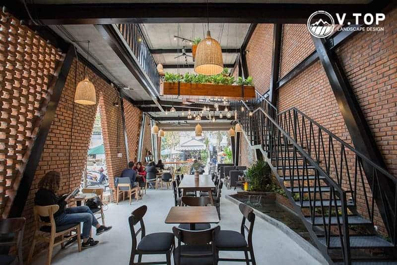 thiết kế thi công quán café sân vườn đẹp