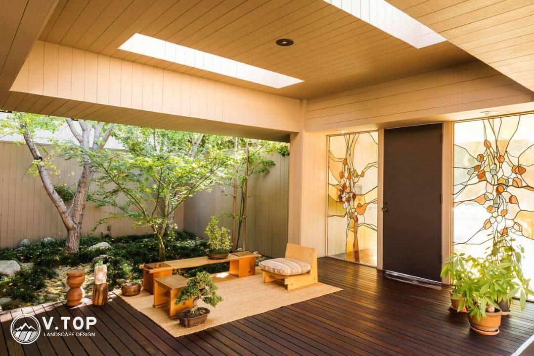 tiểu cảnh sân vườn Nhật Bản