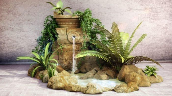 Những điều cần lưu ý của cách làm thác nước trong hòn non bộ hợp phong thủy