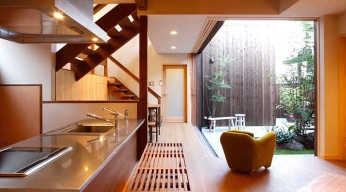 Không gian nhà theo phong cách Nhật