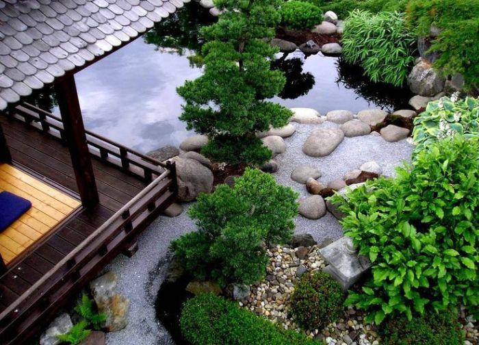 Trang trí sân vườn theo phong cách Nhật Bản