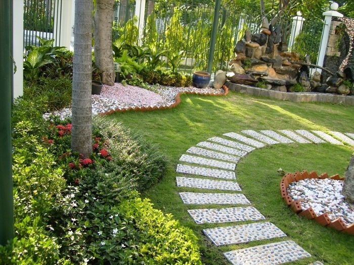 Trang trí sân vườn theo phong cách Châu Âu