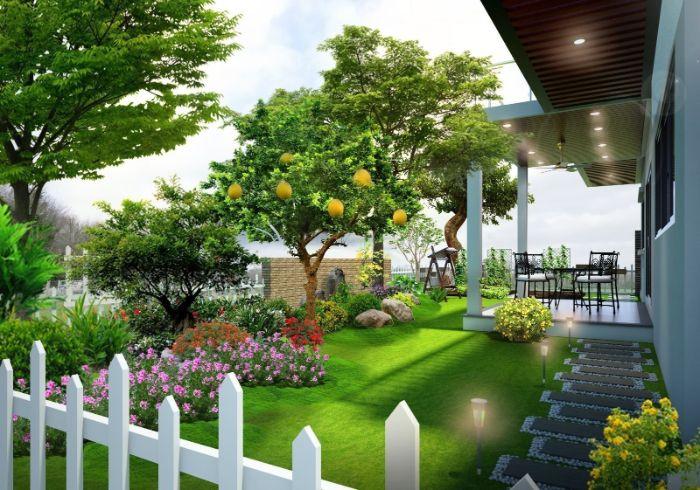Bạn nên chọn dịch vụ thiết kế khu vườn nhỏ đẹp của Sân vườn VTOP