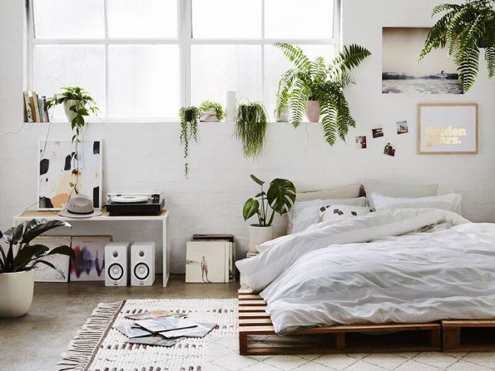 Trồng cây xanh trong phòng ngủ là xu hướng của nhiều gia đình