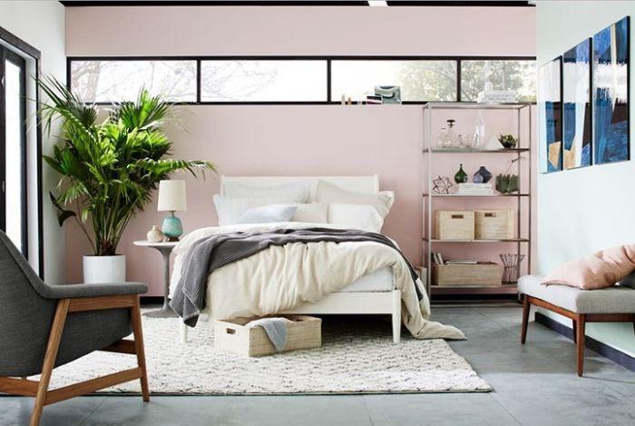 Bạn nên chọn cây xanh trong phòng ngủ với màu sắc trang nhã, mùi hương nhẹ