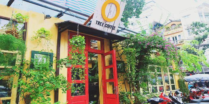Cổng quán cafe đẹp sẽ giúp lôi kéo được khách hàng