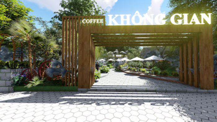 Lưu ý gì khi trang trí cổng quán cafe sân vườn đẹp?