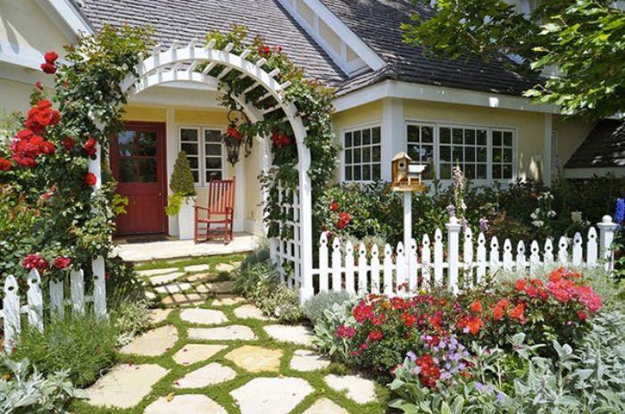 Kích thước cổng nhà vườn tiêu chuẩn có ảnh hưởng lớn đến sinh khí của ngôi nhà