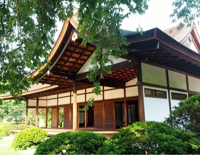 Nhà vườn kiểu Nhật mang sự hiện đại, trẻ trung