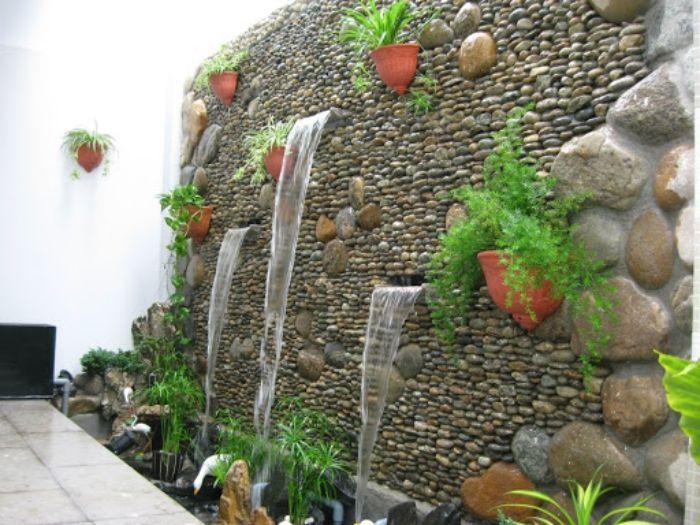 Tiểu cảnh vườn tường đứng