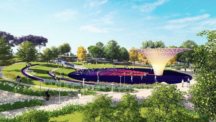 Lợi ích của thiết kế cảnh quan công viên