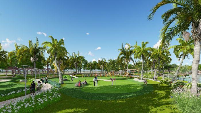 Cảnh quan công viên thiết kế phù hợp mục đích sử dụng