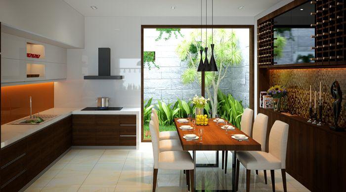 Tại sao nên thiết kế giếng trời sau nhà?