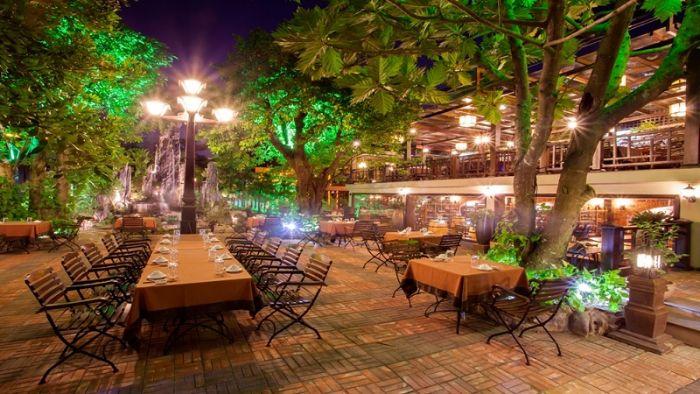 Xu hướng thiết kế nhà hàng sân vườn đang được rất nhiều người lựa chọn