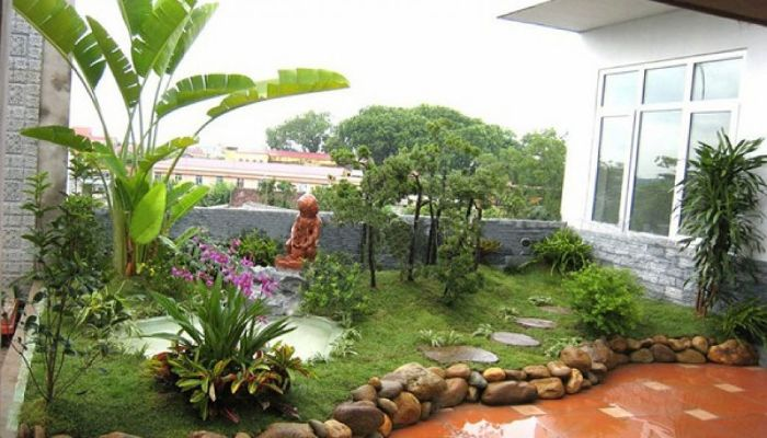 Ứng dụng khu vườn nhật mini